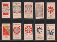 Cigarette cards tarot  set What the stars say. 1934